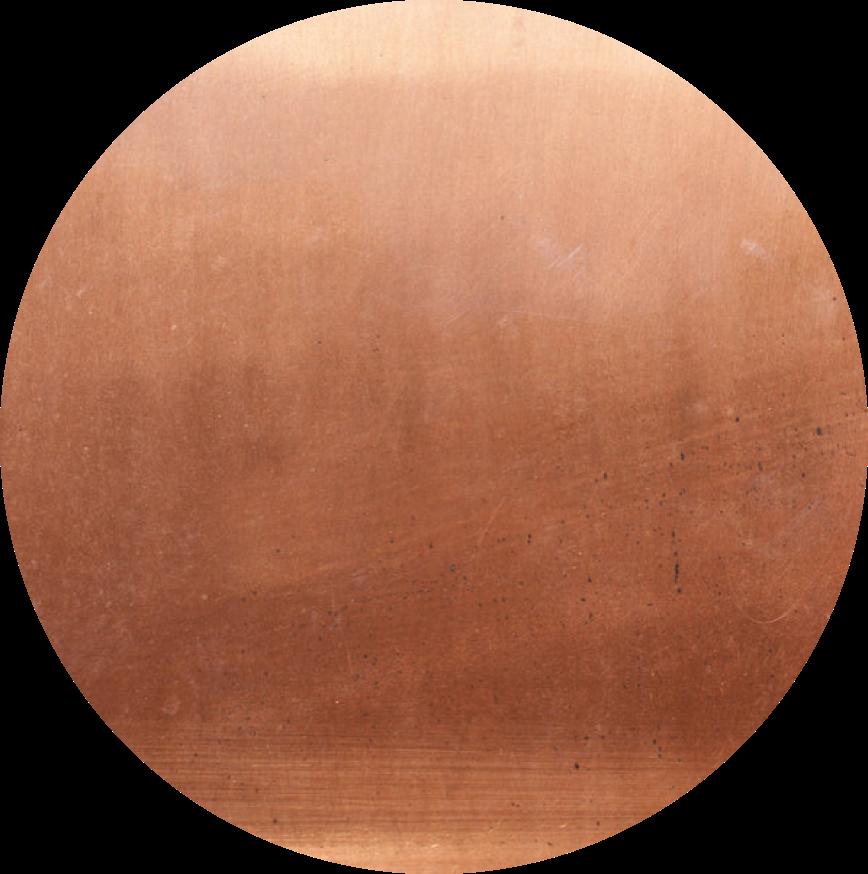 Aged Copper Table Top Supellex Uk