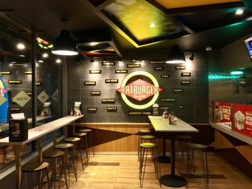 Fatburger, Camden Town